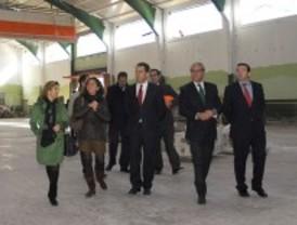 El alcalde de Valdemoro visita las obras municipales