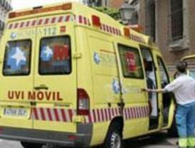 Un fallecido y dos heridos leves tras volcar su coche en Leganés