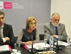 Rosa Díez presenta sus candidatos para Madrid