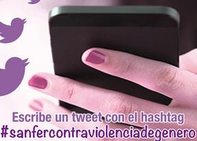 San Fernando tuitea contra la violencia de género