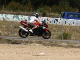 El puerto de Canencia será cortado para un curso de conducción de motos