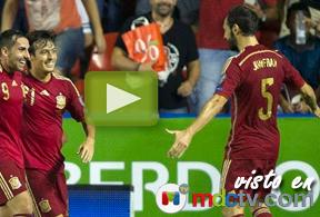 España 5 - Macedonia 1: todos los goles