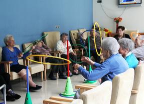 Aula de psicomotricidad del centro de la Fundación Reina Sofía