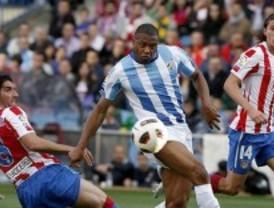 El Málaga amarga al Calderón