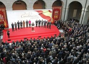 Madrid mira a Cataluña en el Día de la Constitución