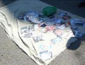 La Policía detiene a una persona y se incauta de 17.850 CD y 5.500 DVD falsos