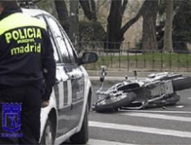 Muere un motorista tras un choque en el Paseo de Moret