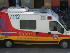 Herido muy grave un hombre que quedó atrapado en su turismo tras salirse de la vía en la M-112
