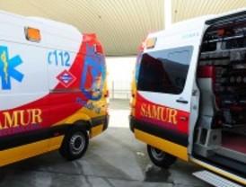 Fallece un motorista tras colisionar con un coche en Carabanchel