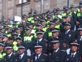 29 nuevos cargos de la policía local de Getafe toman posesión