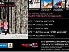 La campaña 'Madrid por amor al arte' promocionará el turismo cultural
