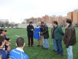 Alcalá de Henares estrena un nuevo campo de rugby