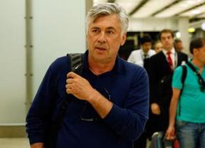 Ancelotti aterriza en Madrid