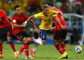 México le frena los pies a Brasil
