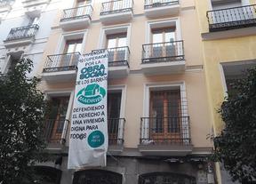 Imagen de archivo de 'La Manuela', otro edificio okupado por la PAH en Madrid.