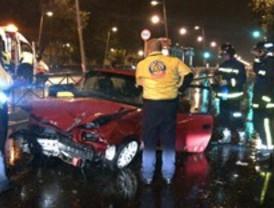 Una joven de 18 años fallece en un choque entre dos vehículos en Madrid