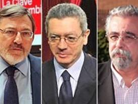Gallardón, Lissavetzky y Pérez se someten a su primere debate de campaña