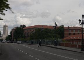 Los carriles de la calle Bailén, ocupados por obras a partir del 26 de septiembre