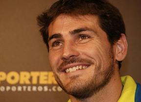 Casillas se convierte en el voluntario 60.000 de Madrid 2020