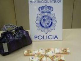 Intervenidos mil billetes falsos de 50 euros adquiridos en Italia