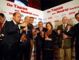 Tapas a dos euros por el centro de Madrid