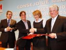 Acuerdo entre Comunidad, sindicatos y empresarios para reactivar la economía y el empleo