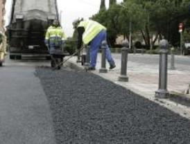 Más obras de asfaltado en Centro, Retiro y Chamberí