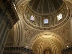 Recuperadas las pinturas barrocas de la Sacristía de los Caballeros del Convento de las Comendadoras