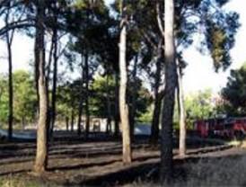 Controlado el incendio de la finca del Sanatorio Psiquiátrico Doctor Esquerdo
