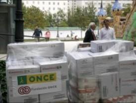 Mensajeros de la Paz prorroga la recogida de alimentos en busca de un récord