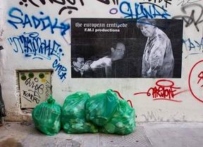La basura de Madrid llega a las Cortes