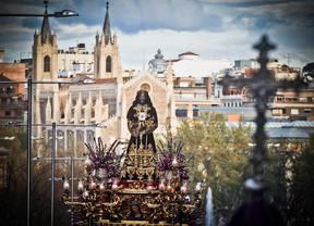 Procesión de Jesús de Medinaceli en Semana Santa.