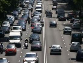 Tráfico intenso en las entradas a Madrid