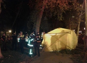 Los vecinos de Santa Eugenia recuerdan al hombre que perdió la vida al caerle una rama