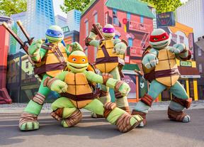 Tortugas Ninja en el Parque de Atracciones