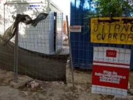 Un vigilante 'jitano' se adueña de una obra promovida por la Comunidad