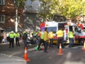 Una anciana resulta herida grave por un atropello en Atocha