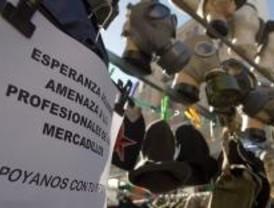 Firmas para no dejar de comerciar en la calle