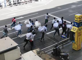 Madrid acoge a 168 inmigrantes 'sin papeles' en diez días