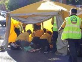Muere la anciana atropellada en un paso de peatones del Puente de Vallecas
