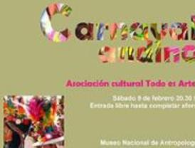 'Carnaval andino' en el Museo Nacional de Antropología