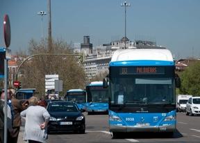 La EMT perdió un 0,34% de viajeros en 2013