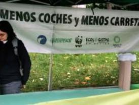 Grupos de ecologistas organizan una 'bicicletada'