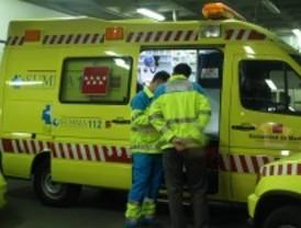 Muere un motorista al ser alcanzado por un coche a la altura de Santa María de la Alameda