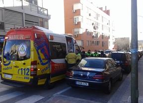 Herido tras recibir dos disparos en el barrio de San Fermín