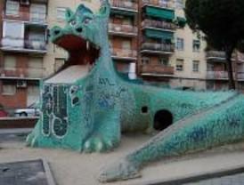 El dragón de La Elipa agoniza