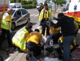 Herida muy grave una mujer al ser atropellada en un paso de cebra en Vallecas