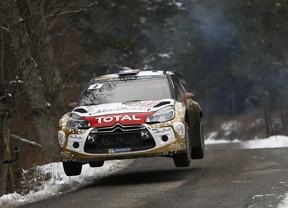 Rallye Montecarlo. Triplete de Volkswagen