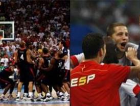 El baloncesto español conquista la plata y el balonmano, un brillante bronce
