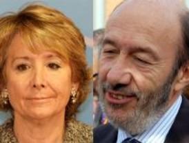 Aguirre y Rubalcaba, premiados con los 'Micrófonos de Oro'